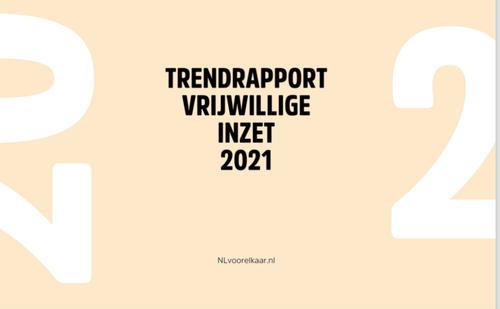 Trendrapport vrijwillige inzet 2021
