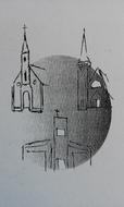 Logo van R.K. parochie Bron van Levend Water, locatie H.M.M. Alacoque