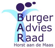 organisatie logo Burger Advies Raad Horst aan de Maas