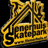 Logo van het Tienerhuis & Skatepark