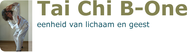 Logo van B-One, praktijk Natuurlijke en Chinese Geneeswijzen Tai Chi Chuan en Taijiwuxigong