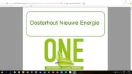 organisatie logo Oosterhout Nieuwe Energie