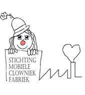 Logo van stichting mobiele clowniek fabriek