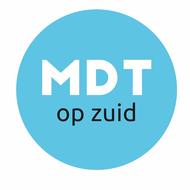 Logo van MDT op Zuid