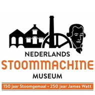 organisatie logo Nederlands Stoommachine Museum Medemblik