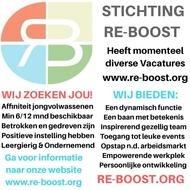 organisatie logo Re-boost