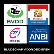 Logo van Blijdschap voor de dieren