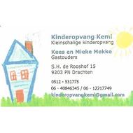 "organisatie logo Kinderopvang ""KEMI"""