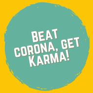 organisatie logo Beat Corona, Get Karma